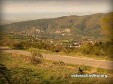 Панчаревското езеро - Снимка от поделението над Кокаляне